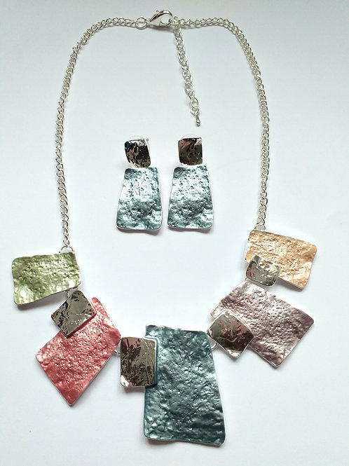 Pastel Necklace Set