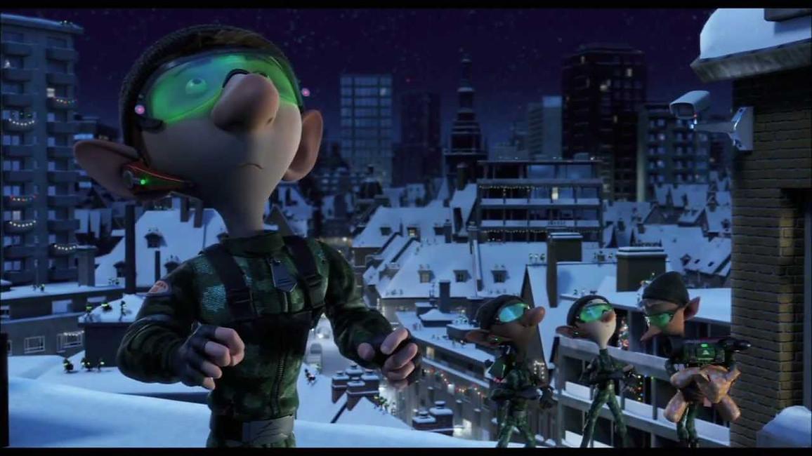 Arthur Christmas - Invasion Sequence