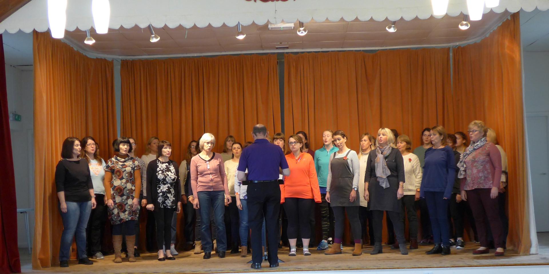 Llandudno rehearsal 2017
