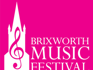Cancelled - Festival Performance, Sunday 17th May 2020, Brixworth Festival