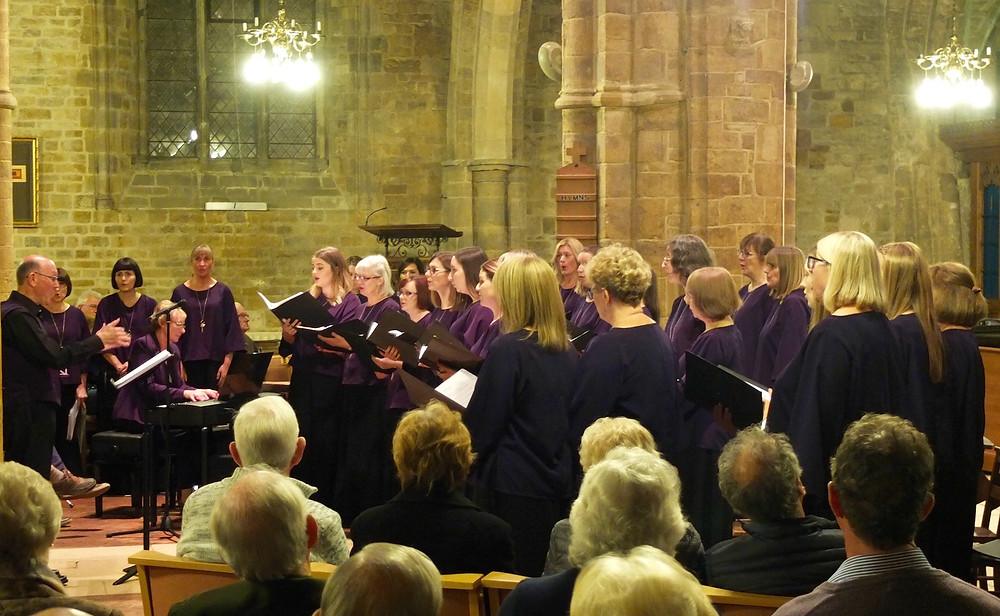 Belcanto performing at Rothwell