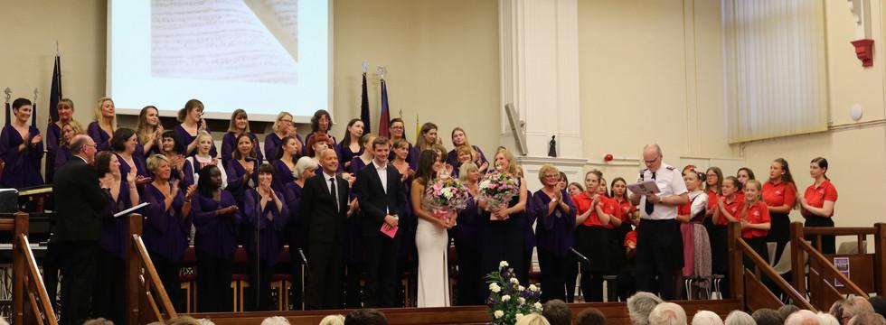 Cransley Charity Concert 2018 Finale