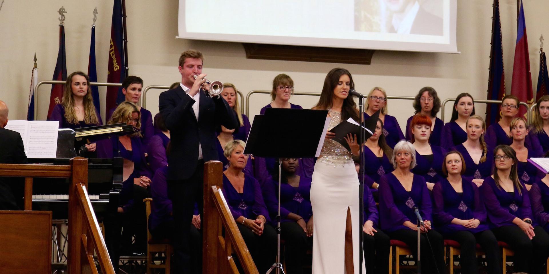 Cransley Charity Concert 2018 Thomas Fountain & Faryl Smith