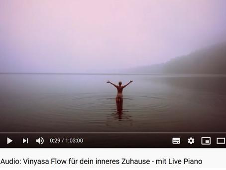 Vinyasa Flow für dein inneres Zuhause - mit Live Piano
