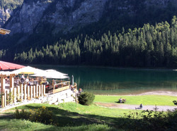 Lac du Montriond in the next valley