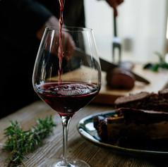 Verre de vin rouge