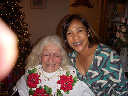 Christmas at our assisted living in Riverside Ca