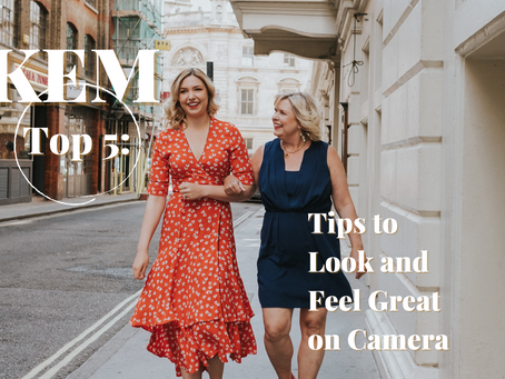 Top 5 Tips to Look and Feel Great on Camera