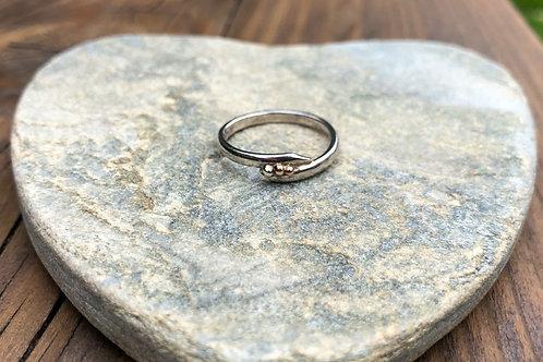 3 Bead Ring