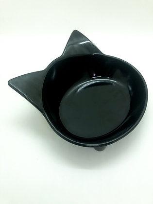 קערת חתולים שחורה