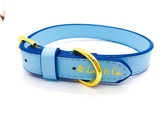 קולר ״לולו״ כחול (זהוב)
