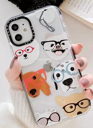 כיסוי לאייפון - Glass Dogs