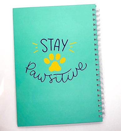 מחברת שורות - Stay Pawsitive