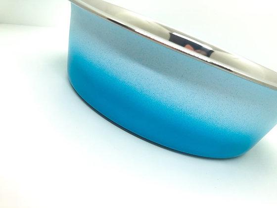 קערת נירוסטה - אומברה כחולה