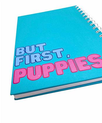 מחברת שורות - Puppies