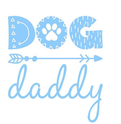 מדבקה  עמידה לרכב (או לאן שתרצו) - Dog daddy