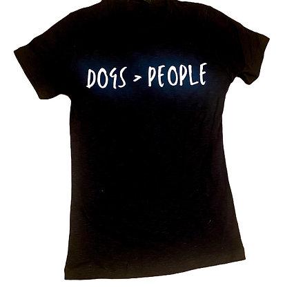 Dogs > People | חולצת טי