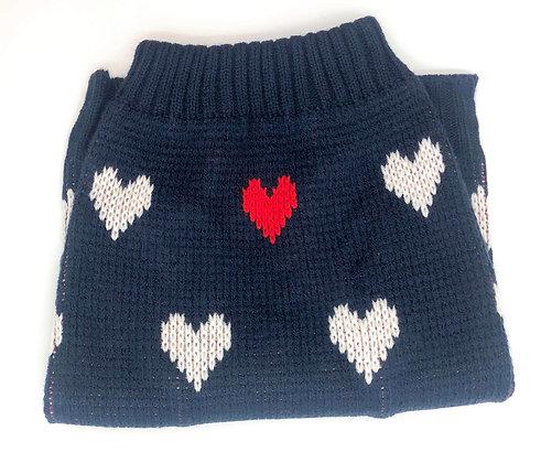 סוודר לבבות