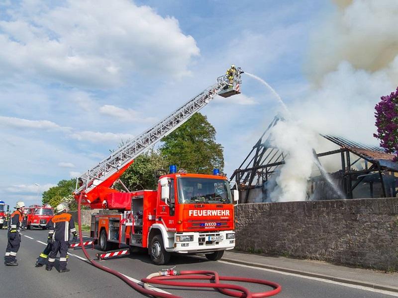 Brand Erbachshof, Eisingen
