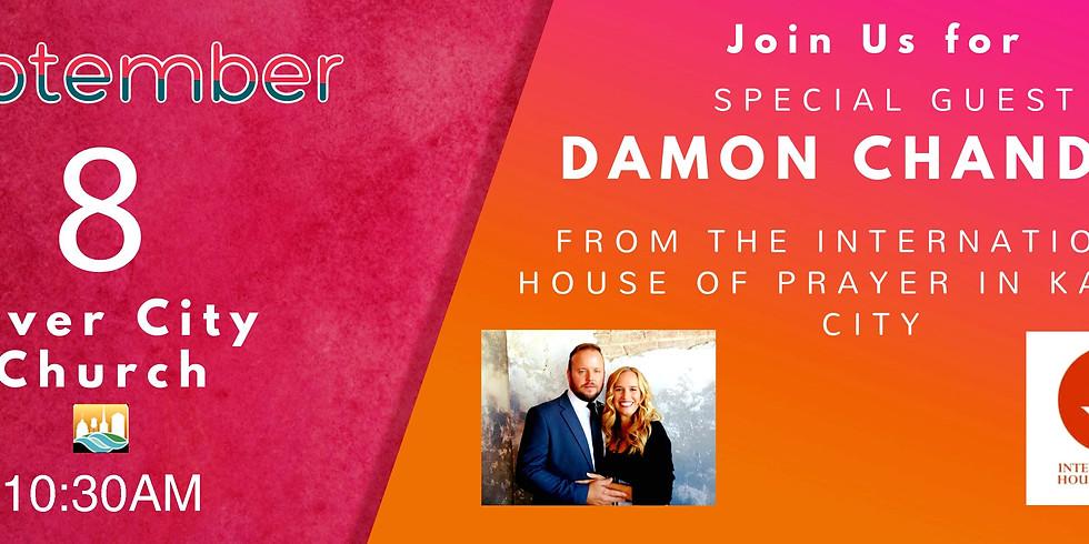 Damon Chandler from the International House of Prayer In Kansas City