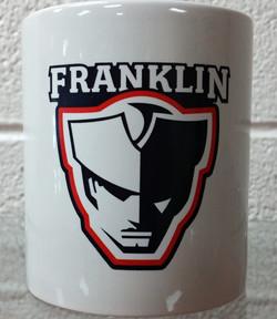 Franklin Patriot Head Coffee Mug