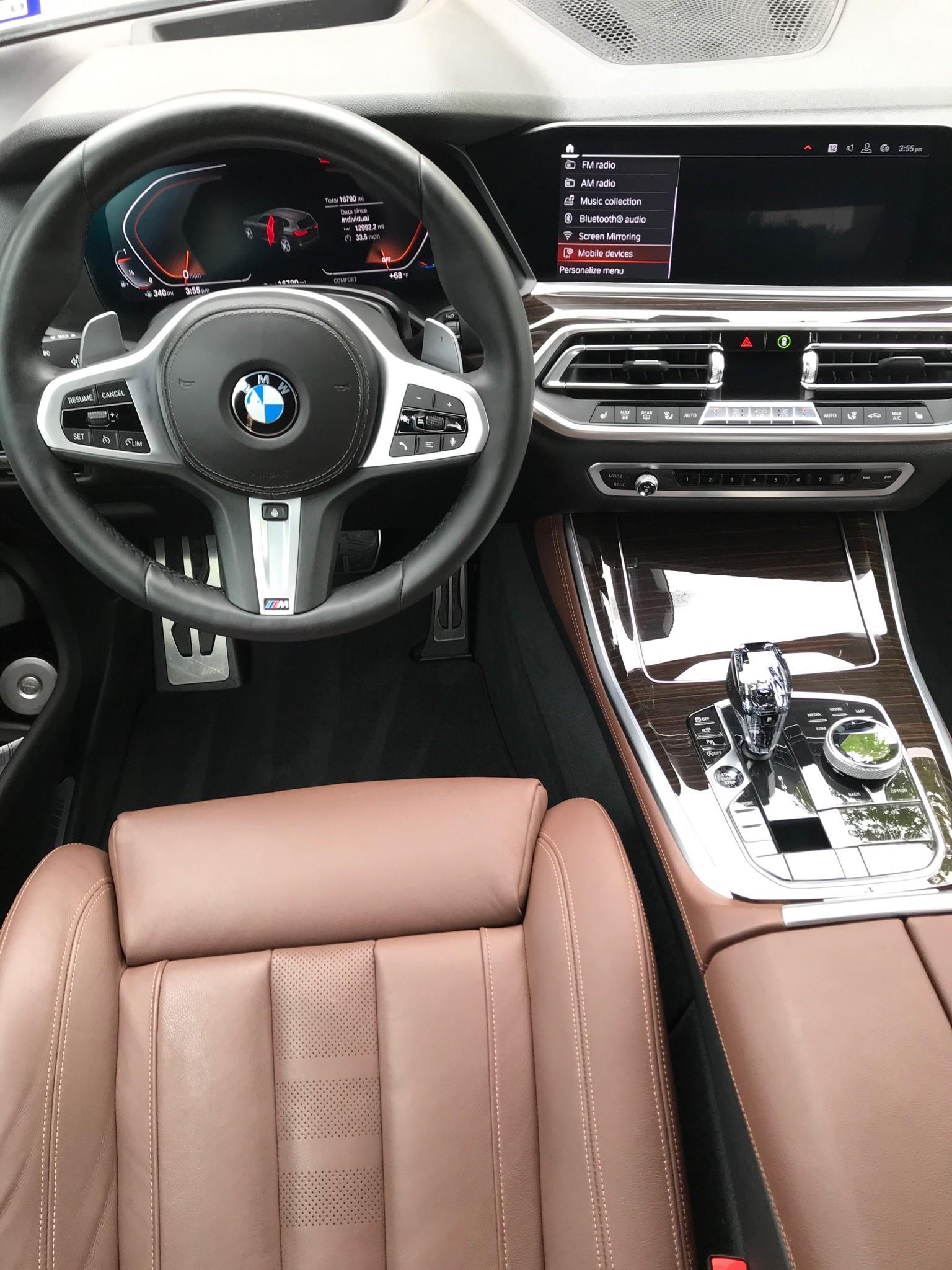 bmw interior.