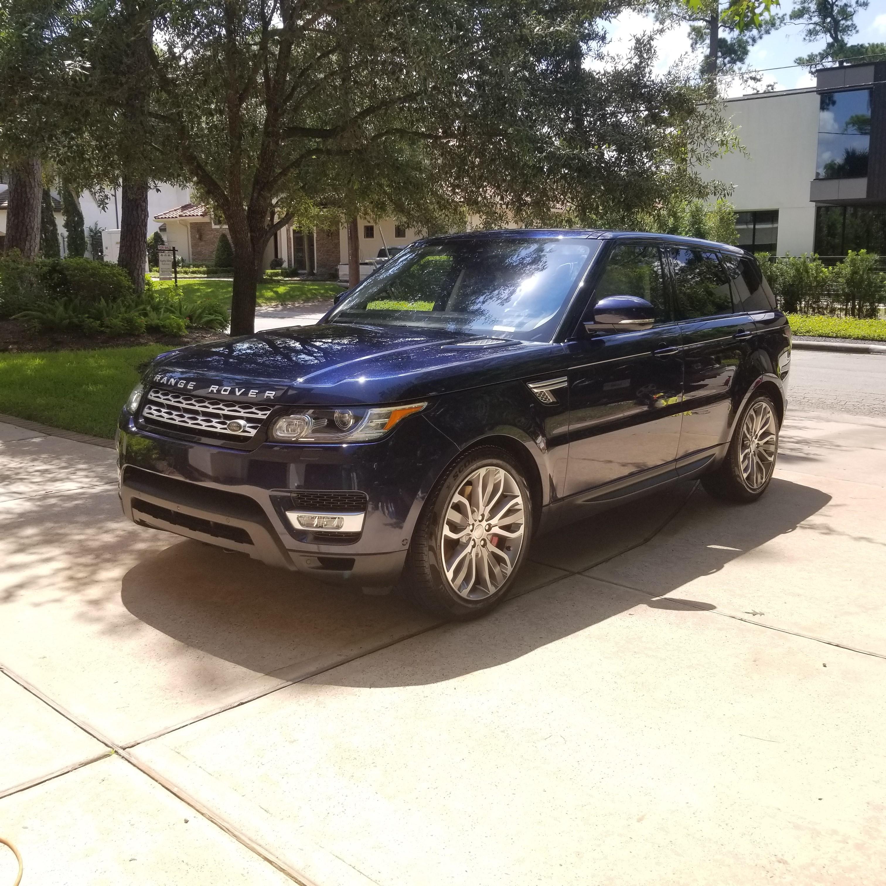range rover exterior ceramic wax