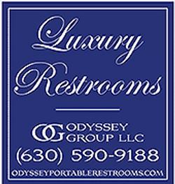 Odyssey Gruop Bathroom Logo