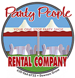 Party People Rental Company Logo
