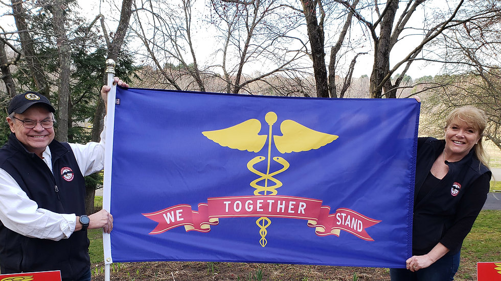 FLAG Together We Stand 5x8