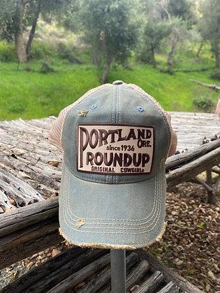 Portland Roundup Cap Hat-2017 Steel Blue