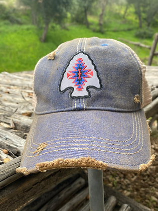 Kele Arrowhead Cap Hat-2007 Vintage Blue