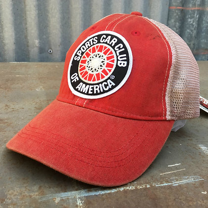 Vintage SCCA Patch Cap 1 of 1