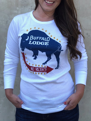 Buffalo Lodge Thermal TU-3010 Front and Back Print