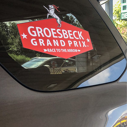 Groesbeck Grand Prix Logo Decal