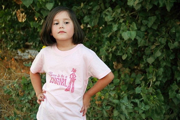 Born to be a Cowgirl Pink-Youth TY-201