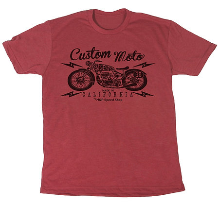 Custom Moto    TM-2024 Red Wash