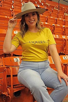 Vaquera- Tee TU-3060 Mustard