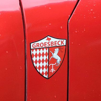 Groesbeck Grand Prix Shield Decal