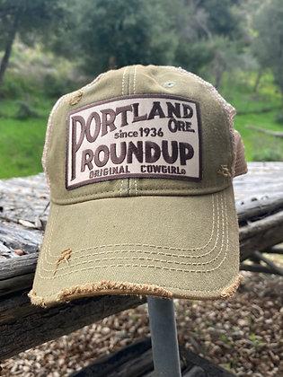 Portland Roundup Cap Hat-2018 Olive