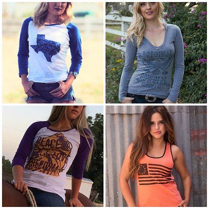 Grab Bag   4 Shirts  Choose Your Size
