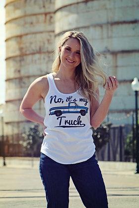 No, It's My Truck TL. White Tank TL-3111