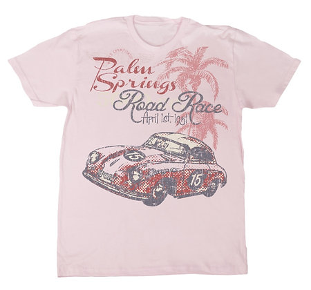 Palm Springs Road Race Tee TM-2010 Pink