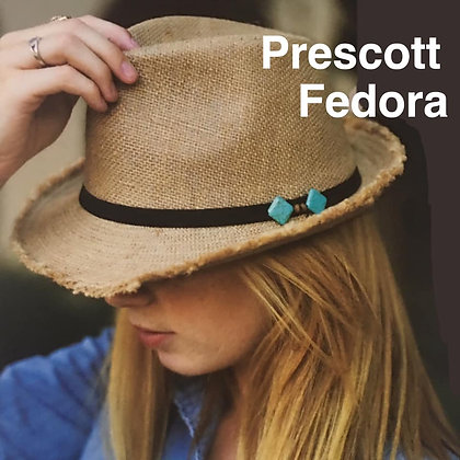 Prescott Fedora Hat-802