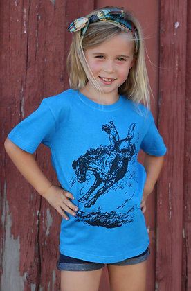 Rodeo Bucking Horse Tee  TY-221