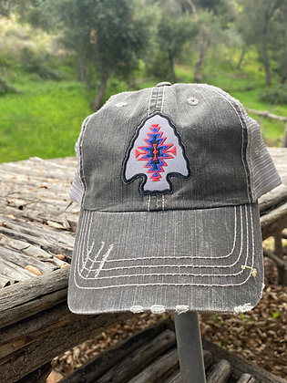 Kele Arrowhead Cap Hat-2006 Black/Silver