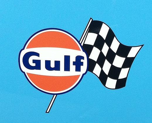 Gulf Racing Stickers