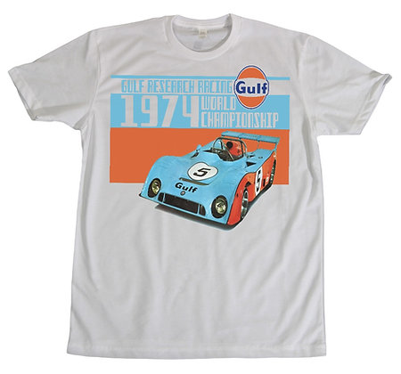 Gulf Research Racing Tee TMG-2039 White/Front/Back