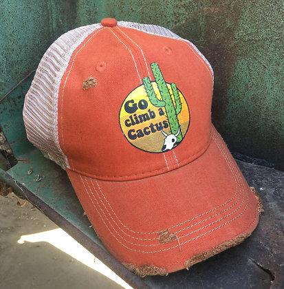 Go Climb a Cactus Cap Hat-688