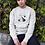 Thumbnail: Adventure Awaits Sweatshirt | Handmade Hippie Illustration